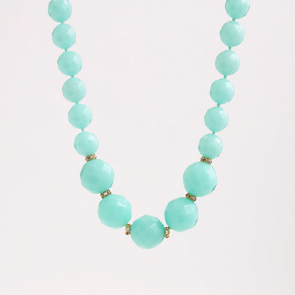J.Crew Factory Factory Wilma bead necklace