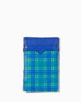Charming charlie Plaid Magic Wallet