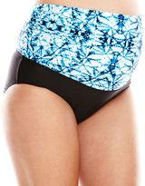 CHRISTINA MATERNITY Christina Tie-Dye 3-Way Swim Bottoms - Maternity