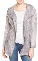 Andrew Marc Women's Teri Translucent Rain Jacket