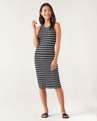 Splendid Lorelei Tank Dress in Stripe