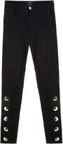 Anthony Vaccarello Buttoned Trousers