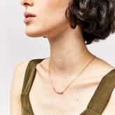 Warehouse Graduated Crystal Bar Necklace