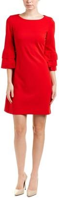 Taylor Dresses Women's Triple Tier Sleeve Shift Dress