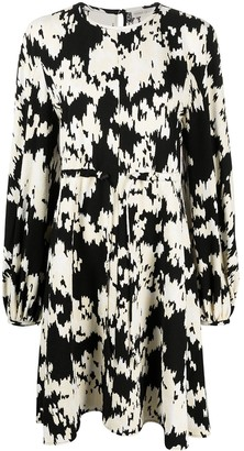 Stine Goya Mark noise print midi dress