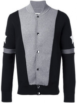 Givenchy stars and stripe knitted cardigan
