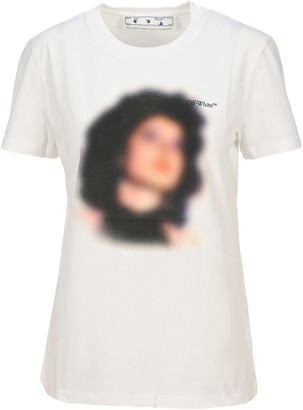 Off-White Off White Woman Printed T-shirt