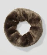 LOFT Faux Fur Popover Scarf