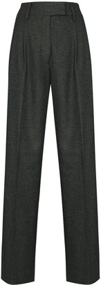 REMAIN Camino pleated trousers