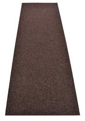 Ebern Designs Hemingford Tufted Brown Indoor / Outdoor Area Rug Ebern Designs Rug Size: Runner 3' x 38'