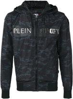 Plein Sport - camouflage K-way jacket - men - Polyester - M