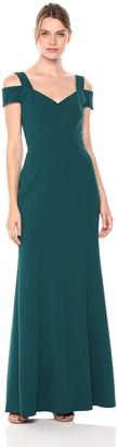 Brinker & Eliza Women's Cold Shoulder Fitted Gown