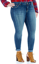 "Jessica Simpson Plus ""Kiss Me"" Super Skinny Jean"