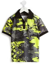 Philipp Plein 'Commando' polo shirt - kids - Cotton - 7 yrs