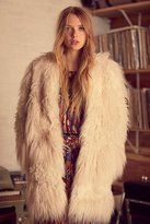 Zadig & Voltaire Lamy Faux Fur Coat by at Free People