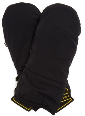 Fendi Logo-patch Technical Ski Gloves - Black