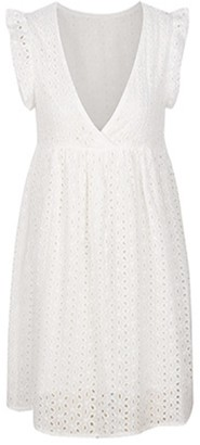 Goodnight Macaroon 'Nicca' Crochet Lace Mini Dress (3 Colors)