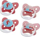Dr Browns Dr. Brown's Dr Brown's Prevent Butterfly Pacifier Stage 1, 4 Pack