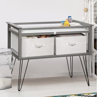"Isabelle & Maxâ""¢ Laurist Changing Table with Pad and 2 Baskets Isabelle & Maxa"