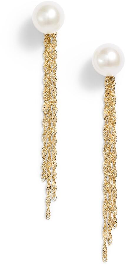 89a3bd270d3 Pearl Earring Jackets - ShopStyle
