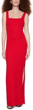 BCBGeneration Square-Neck Bodycon Dress