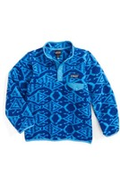 Patagonia Toddler Boy's Lightweight Synchilla Snap-T Fleece Pullover