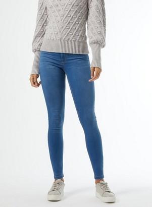 Dorothy Perkins Womens **Dp Tall Blue Midwash Frankie Denim Jeans, Blue