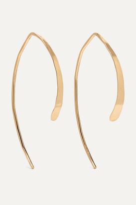 Melissa Joy Manning Wishbone 14-karat Gold Earrings