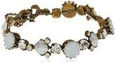 "Sorrelli Pearl Luster"" Gingham Classic Line Bracelet, 7.5"""
