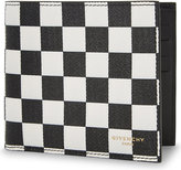 Givenchy Checkerboard Leather Wallet