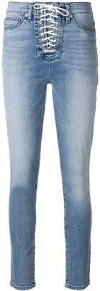 Hudson lace-up jeans