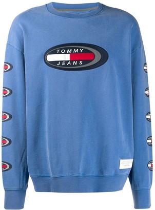 Tommy Jeans logo print sweatshirt