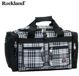 Rockland Bel-Air Black Cross 19-inch Carry-On Tote / Duffel Bag