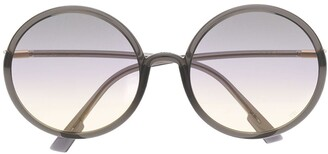 Christian Dior Round Gradient-Lens Sunglasses