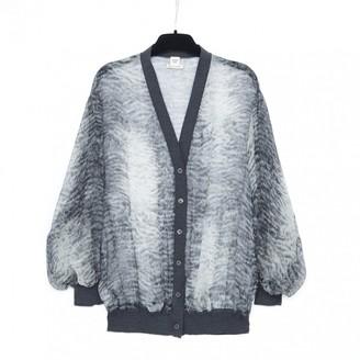 Hermes Anthracite Silk Knitwear for Women Vintage