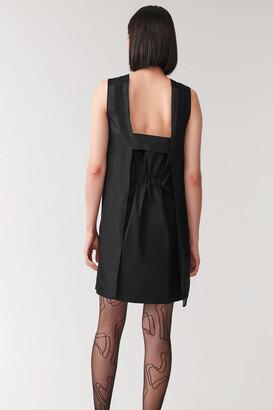 Cos Sleeveless Dress With Silk Organza
