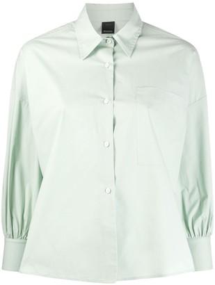 Pinko boxy-fit long-sleeved shirt