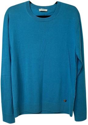 Versace Blue Cashmere Knitwear & Sweatshirts