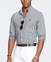 Polo Ralph Lauren Men's Big & Tall Checked Poplin Shirt