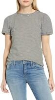 Lucky Brand Puff Sleeve Stripe T-Shirt