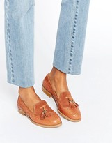 Office Fling Tassle Brogue Leather Loafers