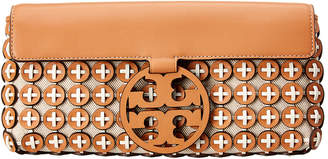 Tory Burch Miller Leather Chainmail Clutch