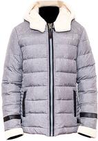 BearPaw Gray Aurora Puffer Coat - Women