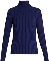 Vanessa Bruno Franja roll-neck ribbed-knit sweater