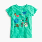 J.Crew Girls' garden T-shirt