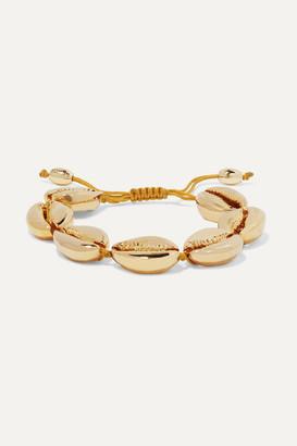 Puka Tohum - Large Gold-plated Bracelet - one size