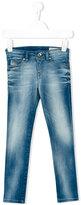 Diesel Skinzee-Low-J Jeans - kids - Cotton/Polyester/Spandex/Elastane - 6 yrs