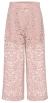 Valentino Lace wool and silk culottes