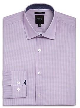 Work Rest Karma Micro Stripes Slim Fit Dress Shirt