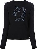 G.V.G.V. cartoon jumper - women - Cotton/Polyester/Rayon - XS